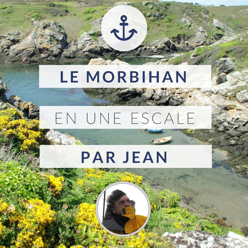 Mon escale préférée dans les îles du Morbihan, par Jean, skipper pro chez Skippair