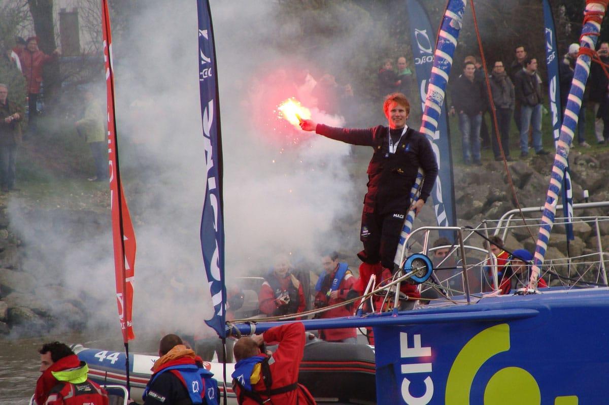François Gabart, dernier vainqueur en date du Vendée Globe