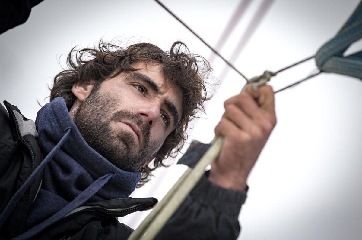 Alan Roura, plus jeune skipper au départ d'un Vendée Globe - Christophe Breschi