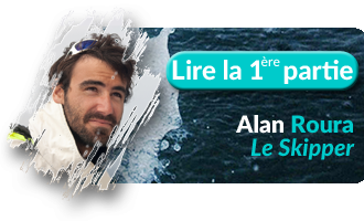 Bouton Un tour dans le monde d'Alan Roura, Partie 1 - Skippair