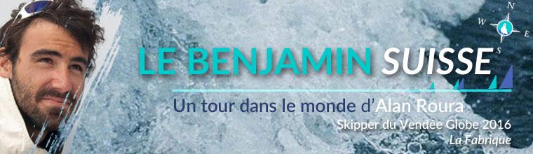 Un tour dans le monde d'Alan Roura, le benjamin suisse - le Vendée Globe par Skippair