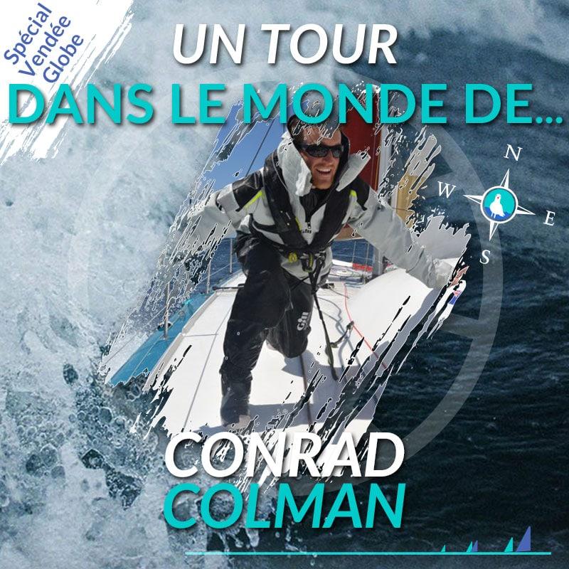 Un tour dans le monde de Conrad Colman