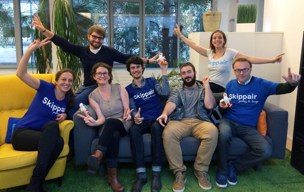 L'équipe Skippair au complet : on vous attend !