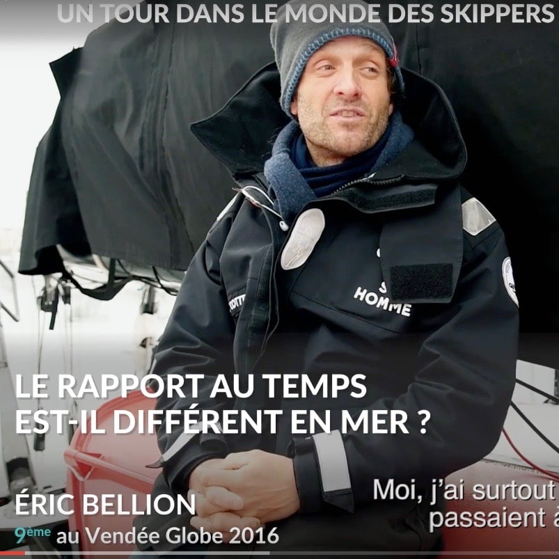 vendee globe rapport temps different mer