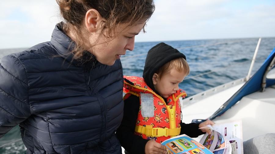 trouver des activités pour les petits sur un bateau