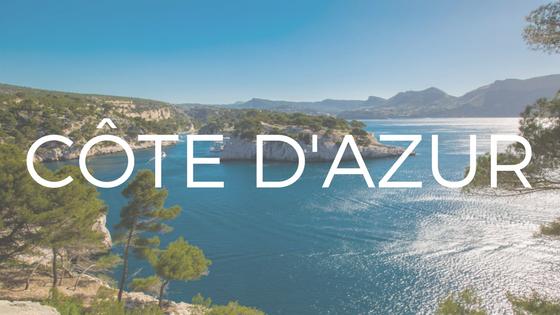 Partez en croisière en Côte d'Azur