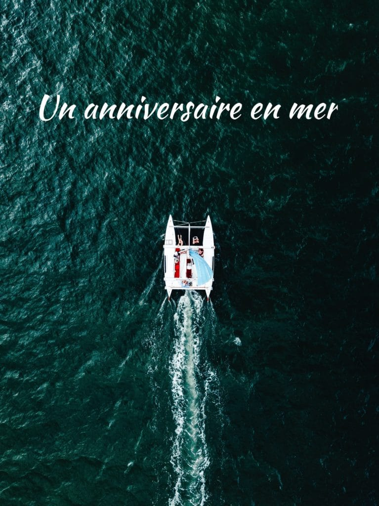 anniversaire en mer
